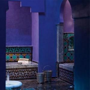 ванная комната в марокканском стиле 22
