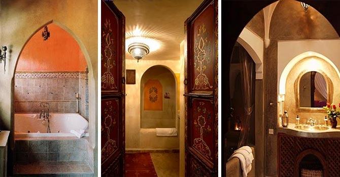 ванная комната в марокканском стиле 23