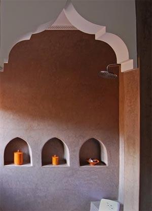 ванная комната в марокканском стиле 25