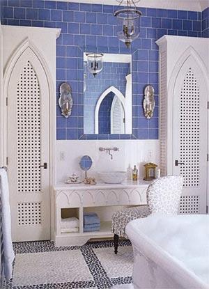 ванная комната в марокканском стиле 8