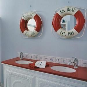 ванная комната в морском стиле 4