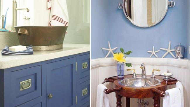 ванная комната в морском стиле 5