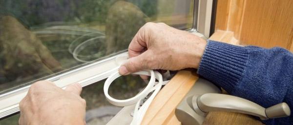 Замена уплотнителя в пластиковом окне