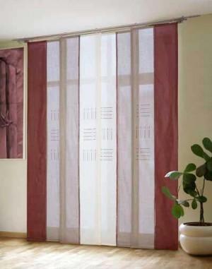 японские шторы фото 3