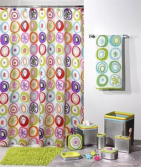 яркая ванная комната 15