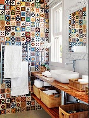 яркая ванная комната 17