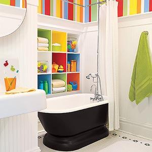 яркая ванная комната 25