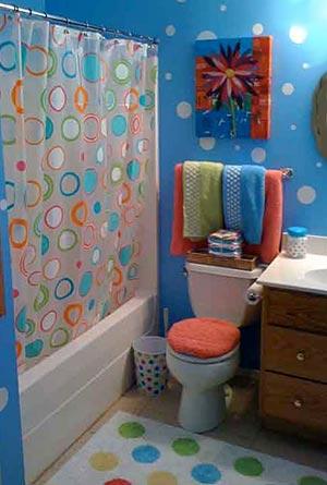 яркая ванная комната 29