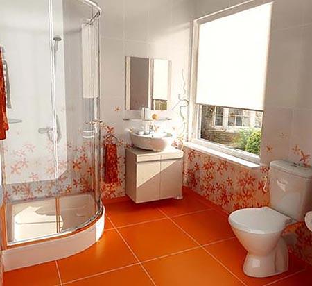 яркая ванная комната 30