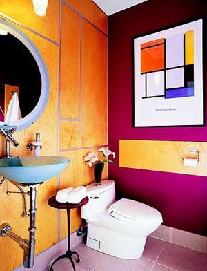 яркая ванная комната 38