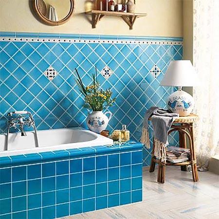 яркая ванная комната 45