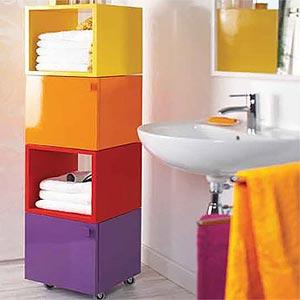 яркая ванная комната 48