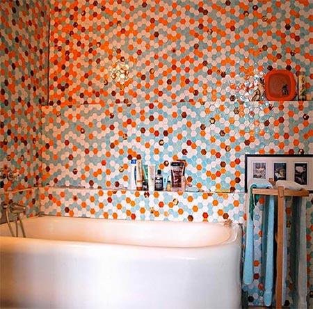 яркая ванная комната 55