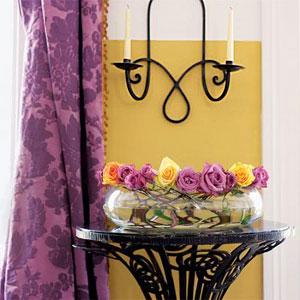 желтый и фиолетовый 12