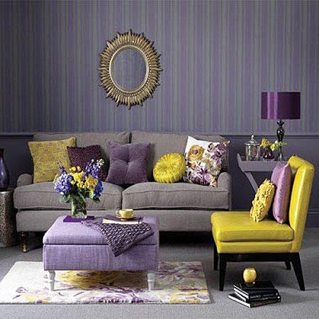желтый и фиолетовый 18