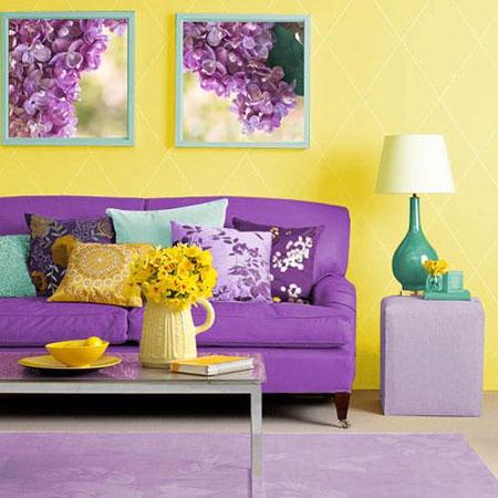 желтый и фиолетовый 23