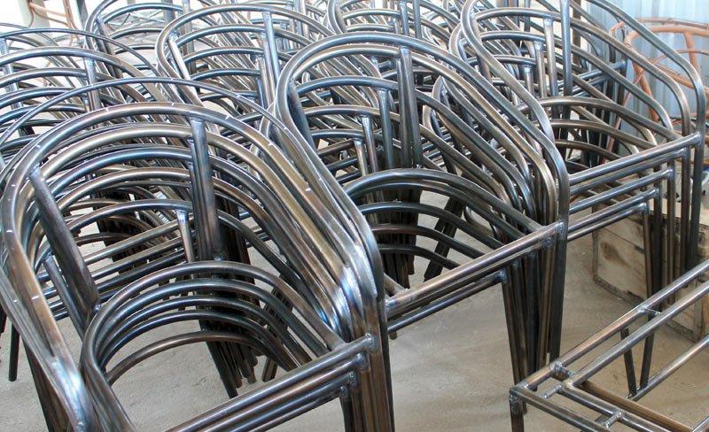 Алюминиевые профили для каркаса мебели из искусственного ротанга