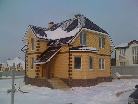 Строительство коттеджей под ключ фото 1