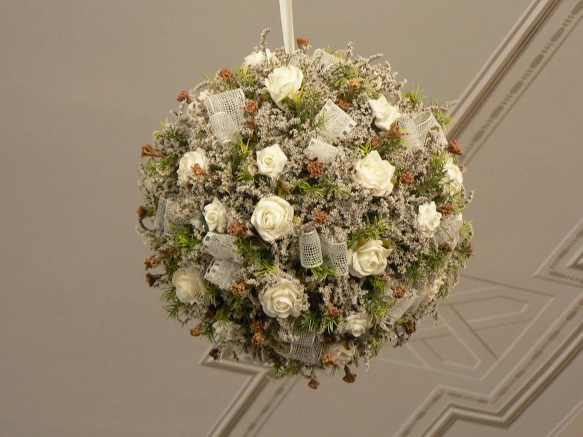 Подвесные искусственные цветы для домашнего интерьера
