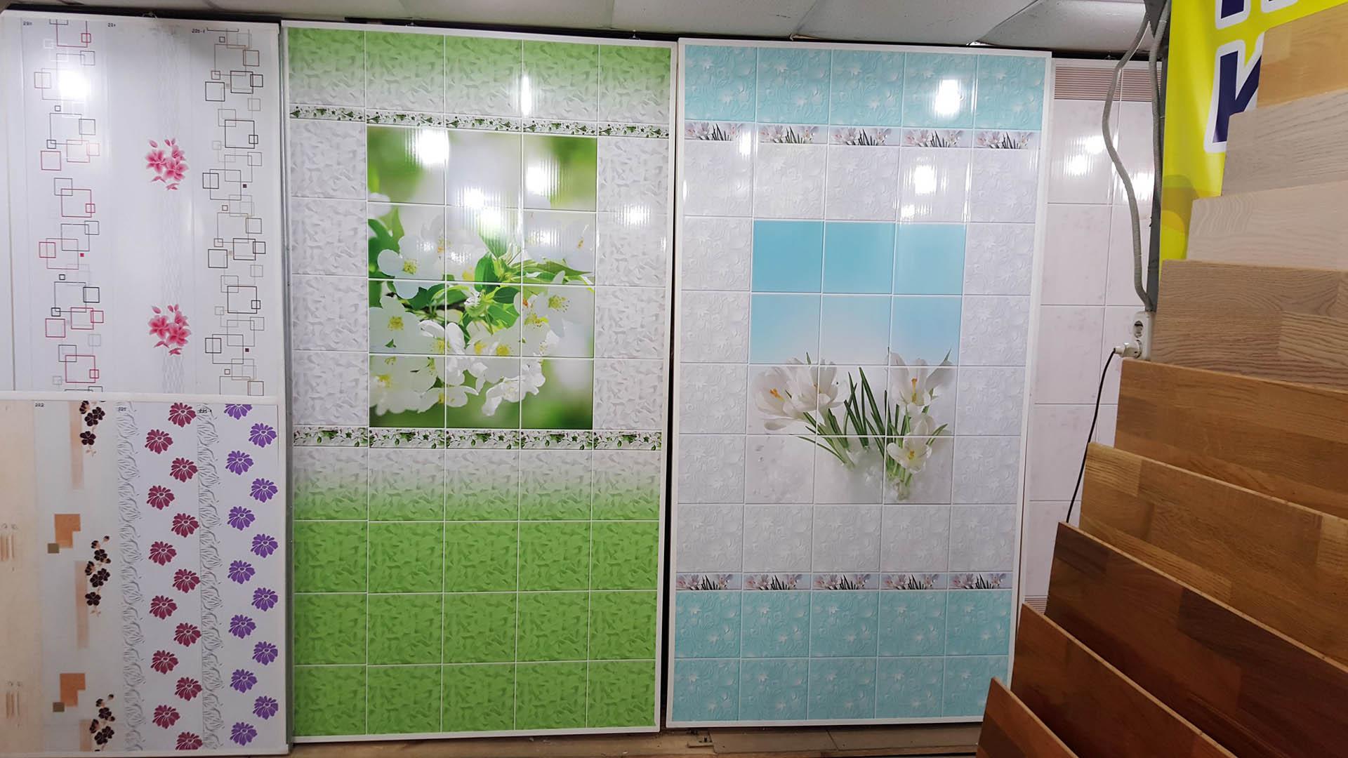 Дизайн ванной комнаты обшитая пластиковыми панелями и
