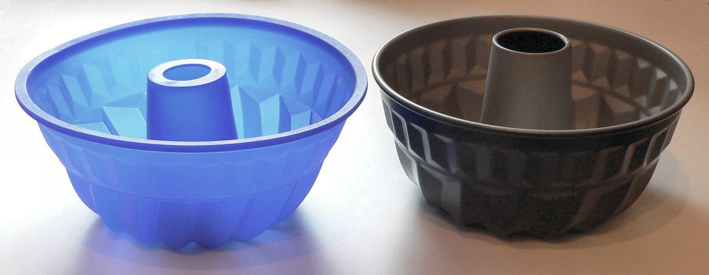 2 формы из силикона