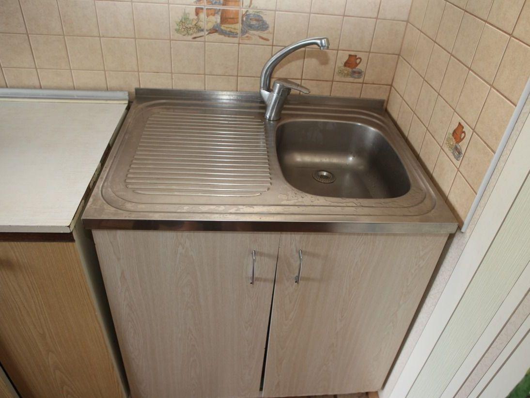 Тумба с мойкой для кухни
