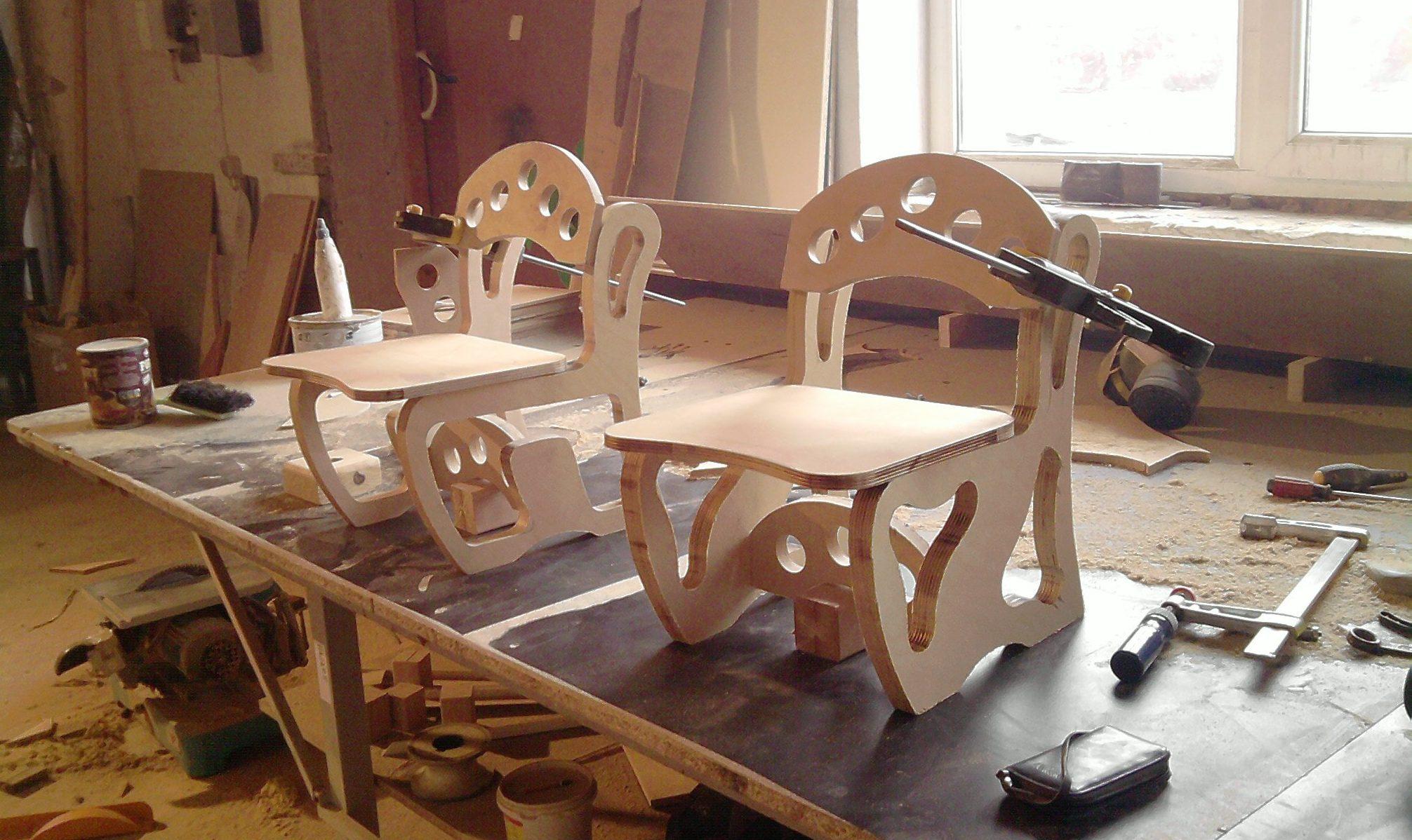 Самодельные стулья