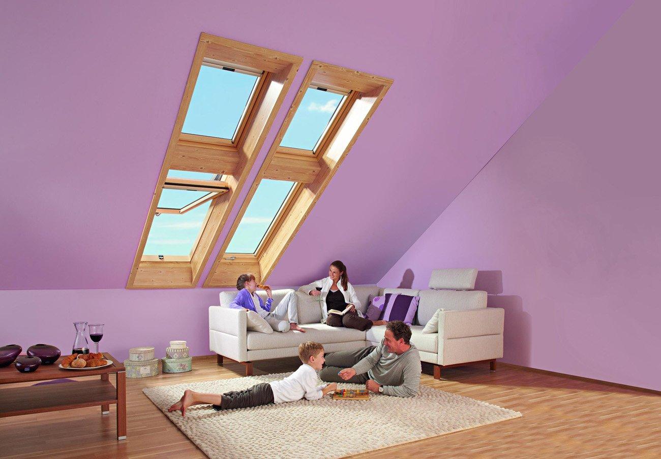Мансардные окна дизайн