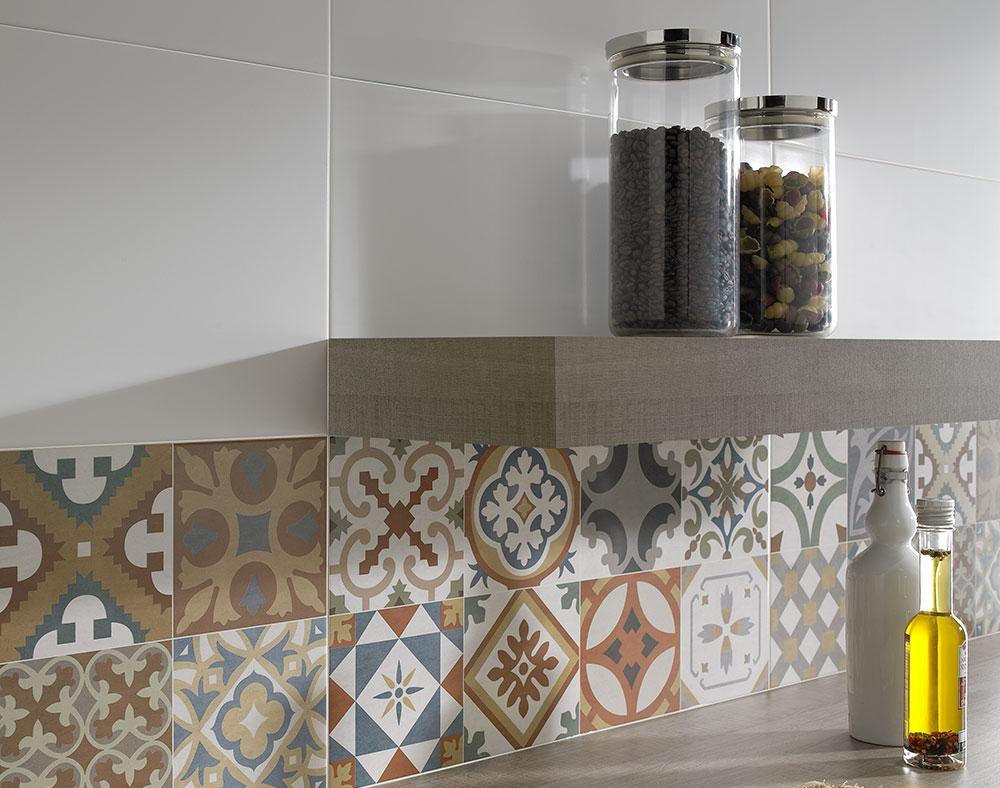 Плитка 10x10 на фартук для кухни