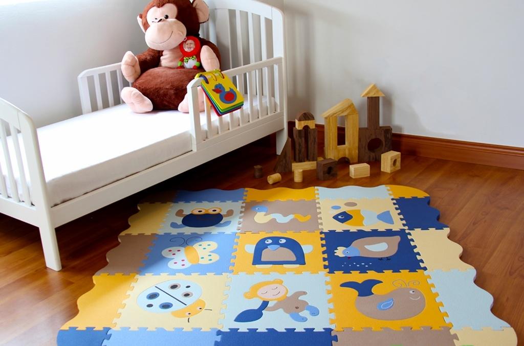Детский коврик-пазл для ползания