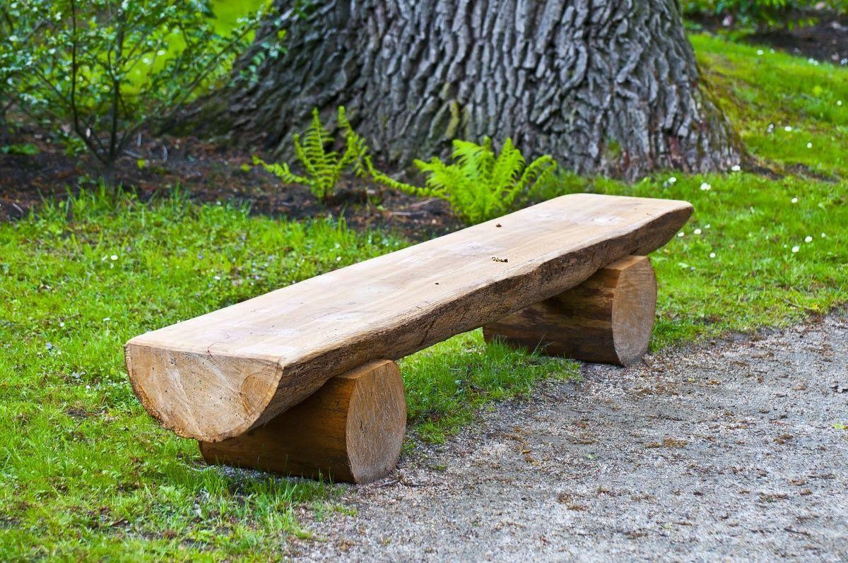 Садовая скамейка своими руками самая простая