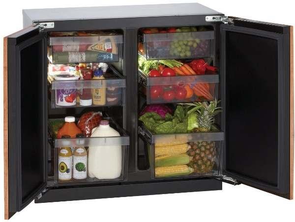 холодильник в разделочном столе2