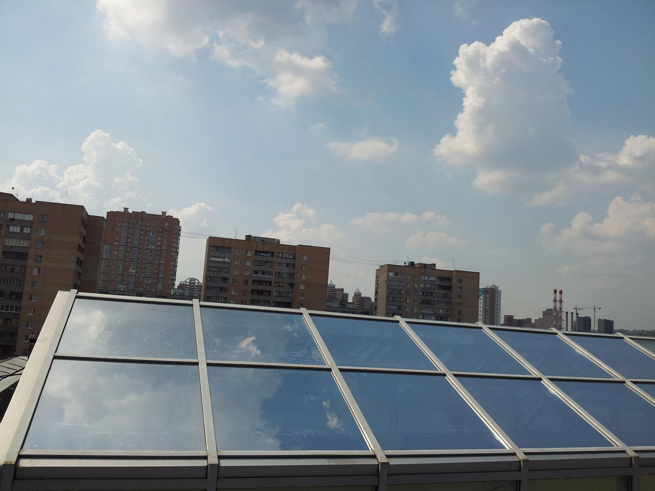 Светоотражающая пленка на окна