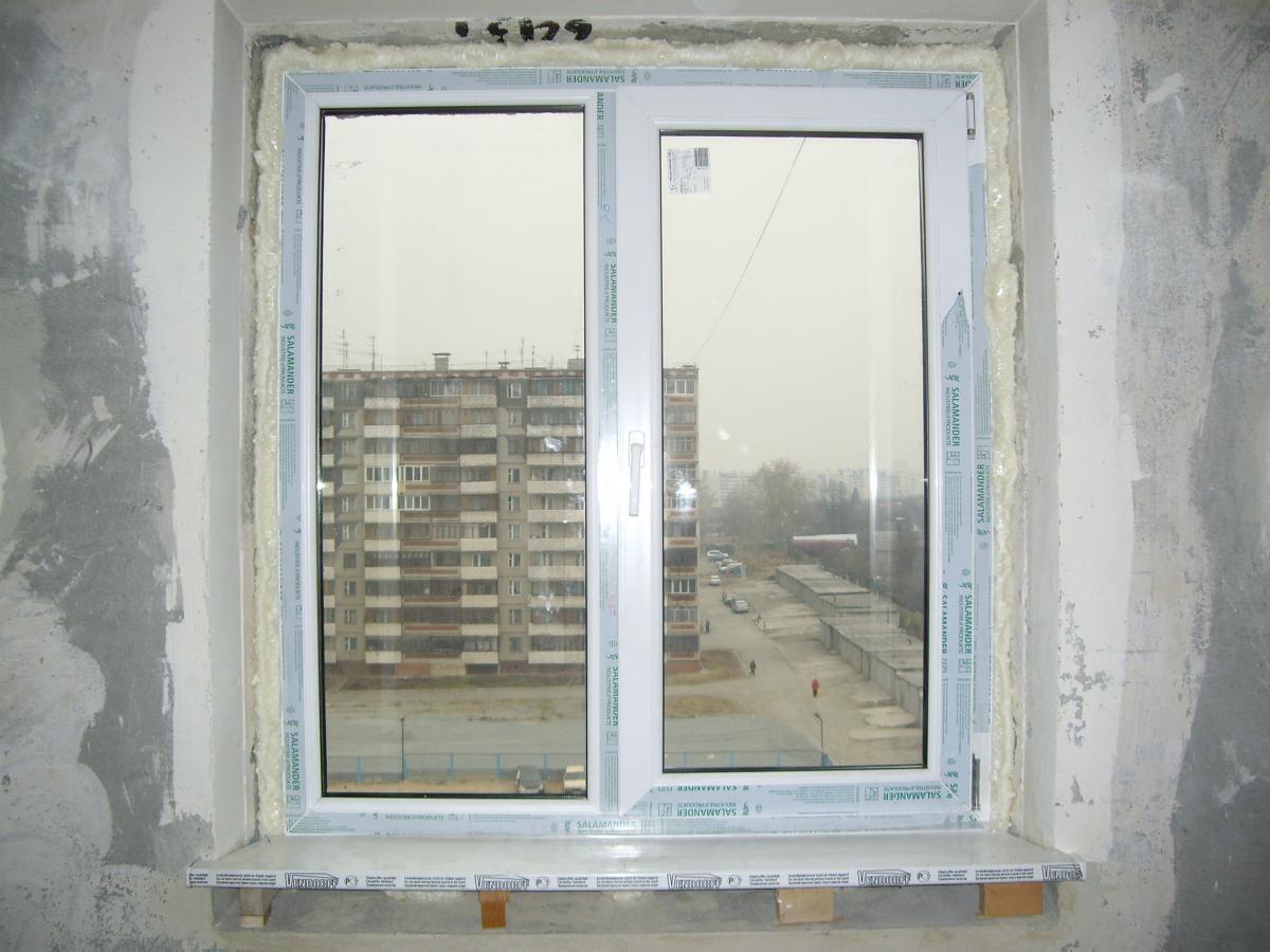 Окно для монтажа