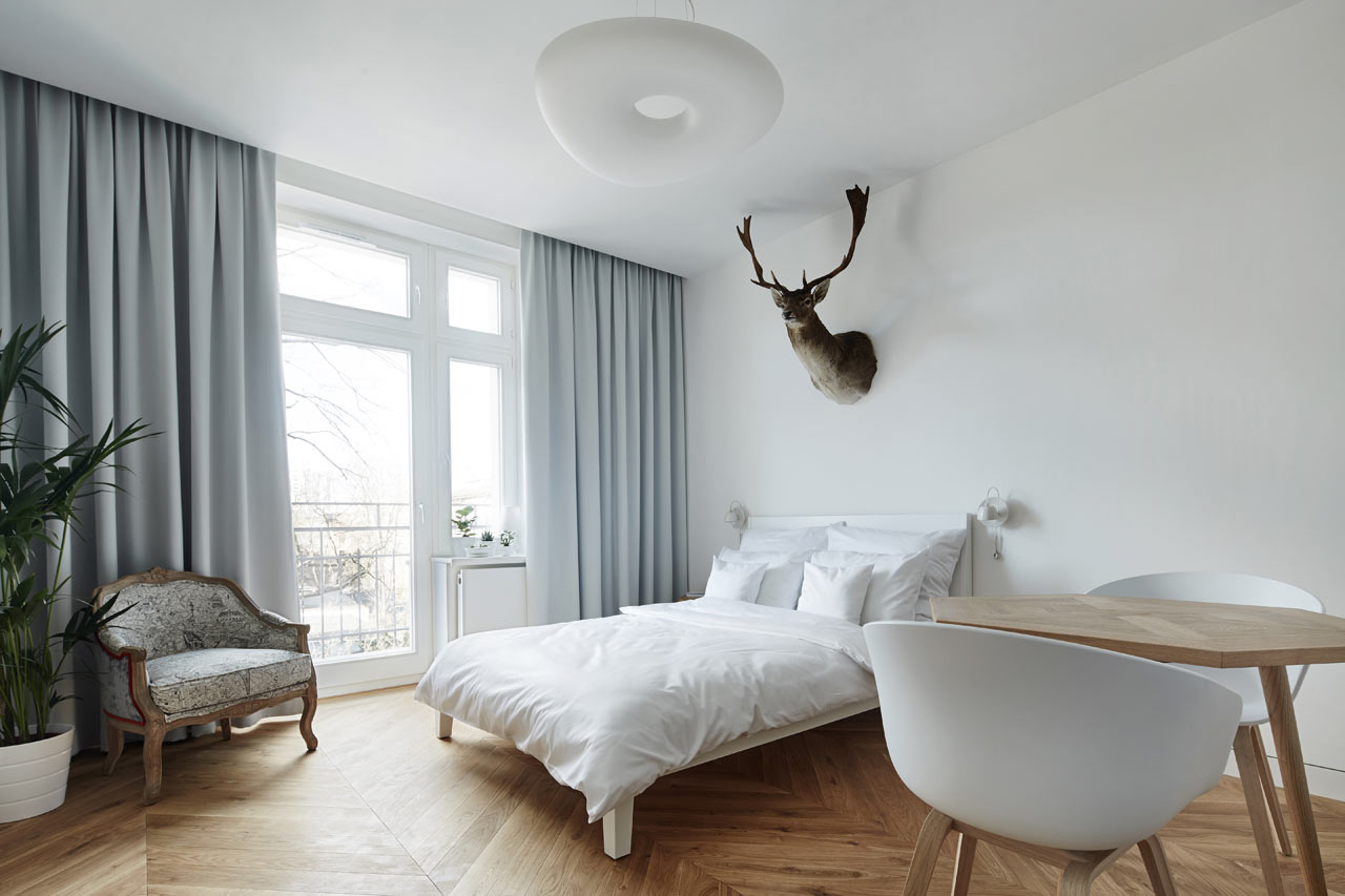 минималистичная квартира-студия1
