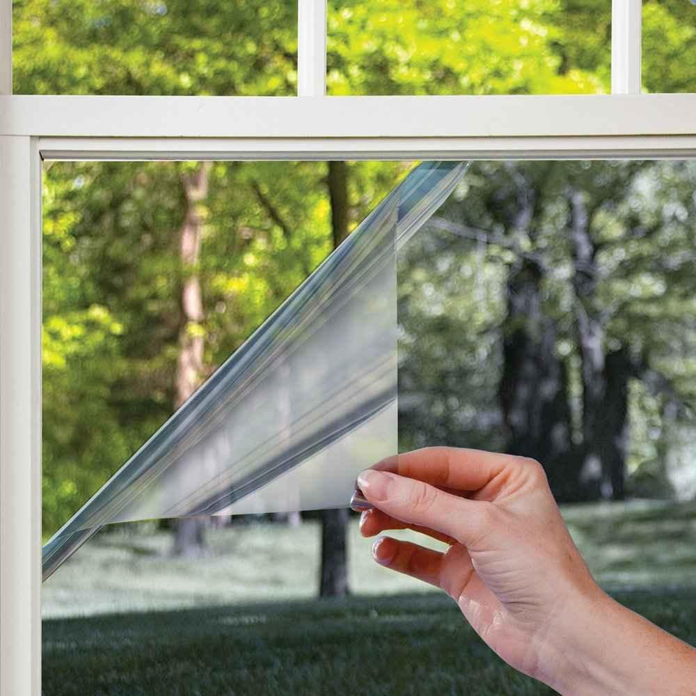 Светоотражающая пленка на окна поклейка