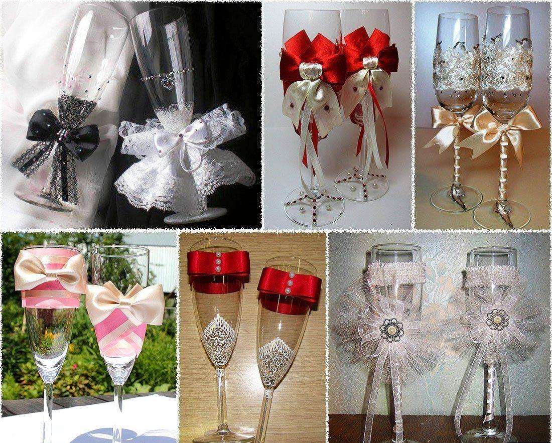 Как сделать свадебные украшения своими руками фото