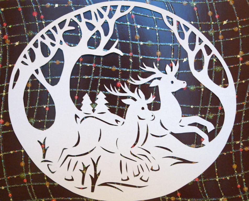 Вытынанки из бумаги - это вид декоративно-прикладного искусства