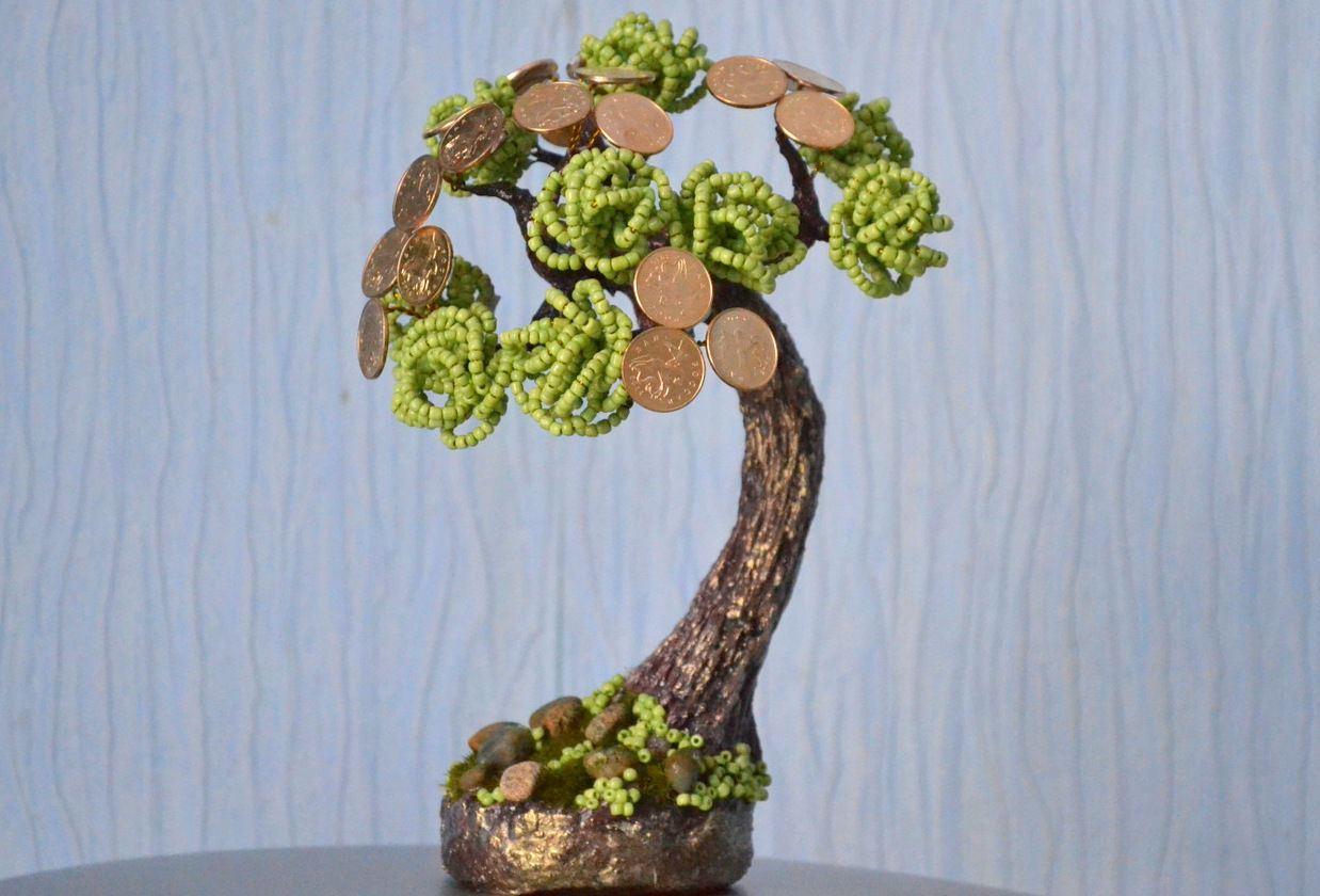 При изготовлении денежного дерева встречаются некоторые трудности