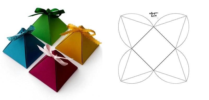 Небольшие коробочки для подарков своими руками