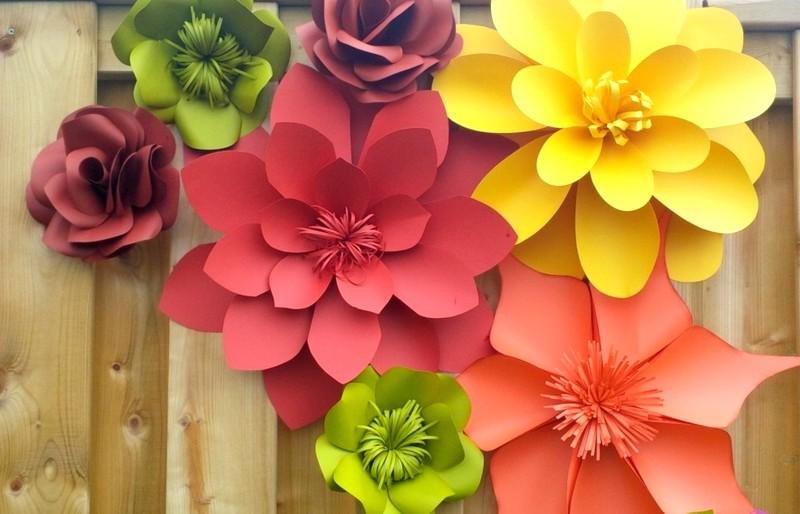 Своими руками из бумаги из под цветов