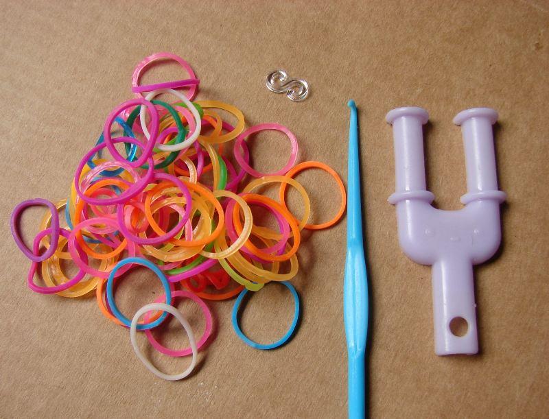 Разноцветные резиночки пользуются огромной популярностью