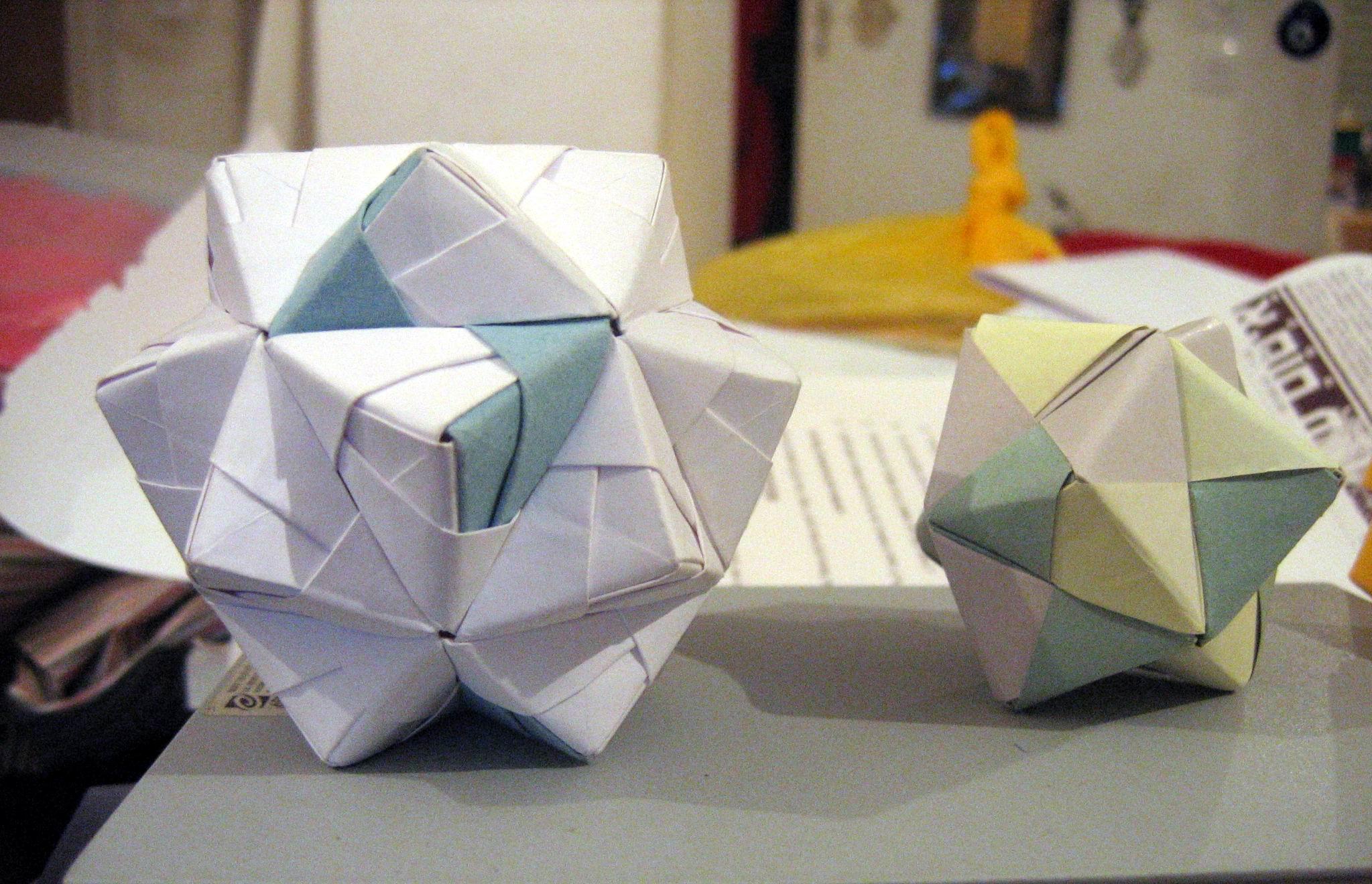 Модульное оригами сонобу