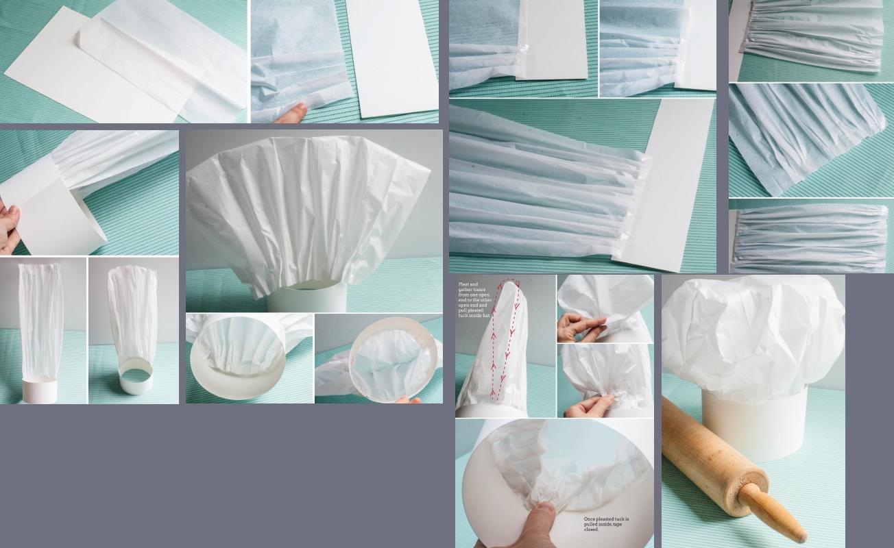 Как сделать повара с бумаги 993