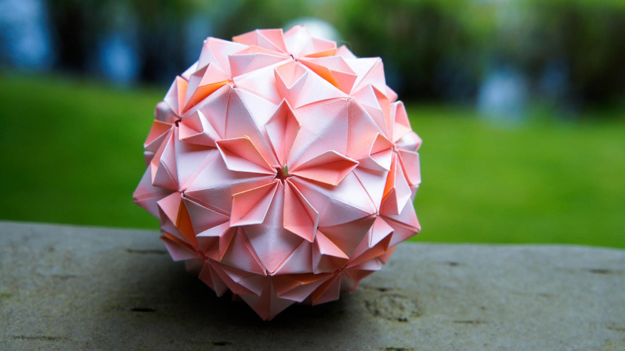 Оригами кусудама