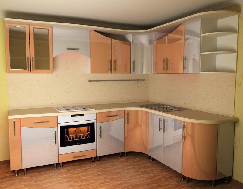 Кухни с фасадом постформинг