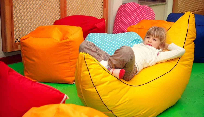 Бескаркасная мебель для детских комнат