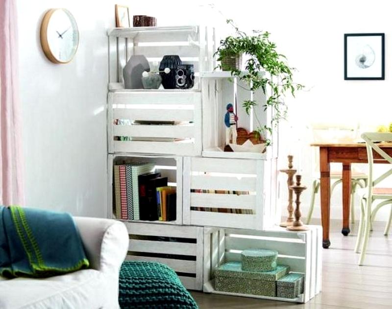 Простая мебель из подручных средств