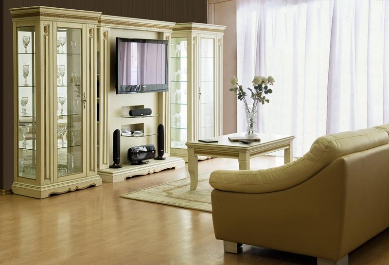 Мебель в гостиной должна нравиться каждому обитателю квартиры