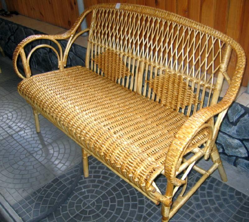 Кресло из ивовых прутьев своими руками 69